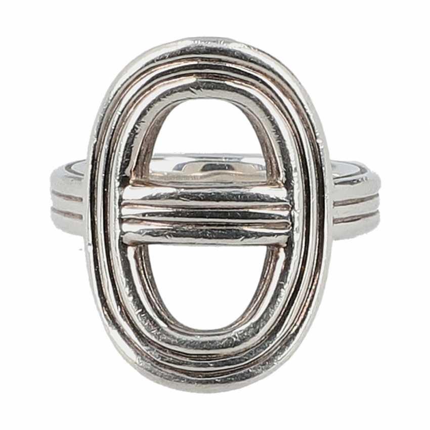 """HERMÈS Ring """"CHAIN D`ANCRE"""", Grösse 53. - photo 1"""