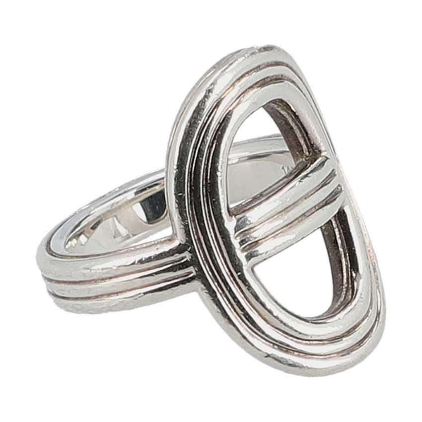 """HERMÈS Ring """"CHAIN D`ANCRE"""", Grösse 53. - photo 2"""