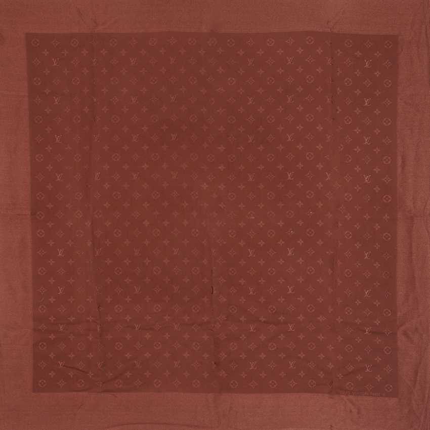 """LOUIS VUITTON Seidencarré """"MONOGRAM"""". - photo 1"""