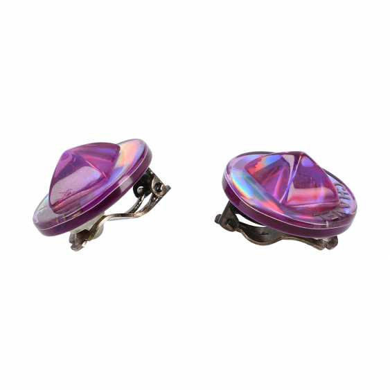 CHANEL clip earrings, collection 2000. - photo 2