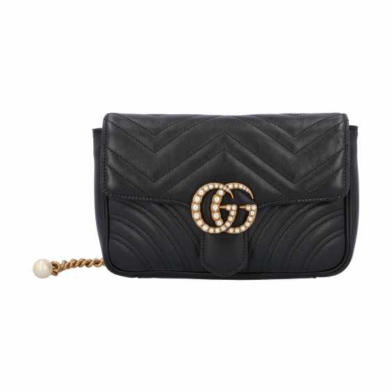 """GUCCI waist bag """"MARMONT 2.0"""", factory price approx.: € 1.900,-€. - photo 1"""