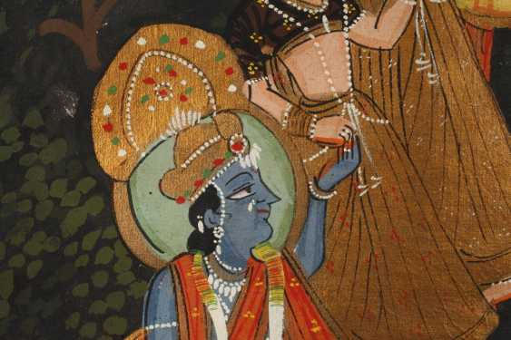 Malerei Radha Krishna Ras Lila - photo 4