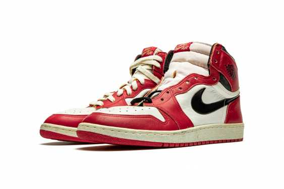Air Jordan 1 TYPS, Player Exclusive Signed Sneaker - photo 1