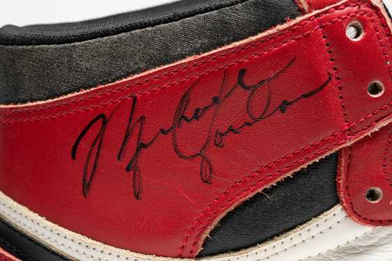 Air Jordan 1 TYPS, Player Exclusive Signed Sneaker - photo 14