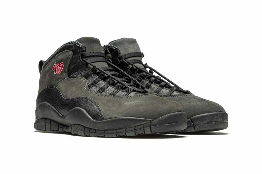 "Air Jordan 10 ""Shadow,"" Player Exclusive Sneaker - photo 10"