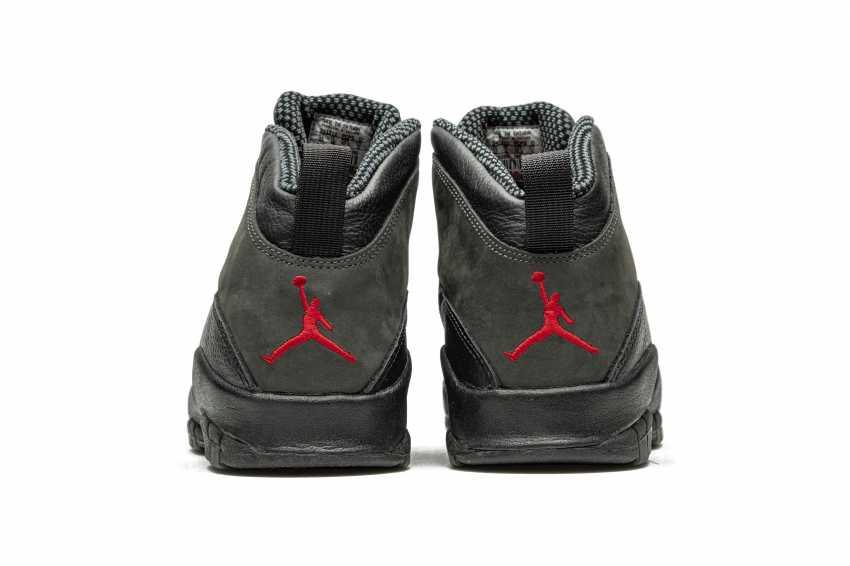 "Air Jordan 10 ""Shadow,"" Player Exclusive Sneaker - photo 12"