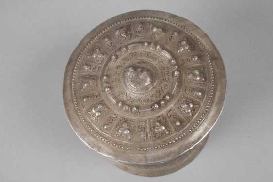 Four Silver Cans Of Persia - photo 2