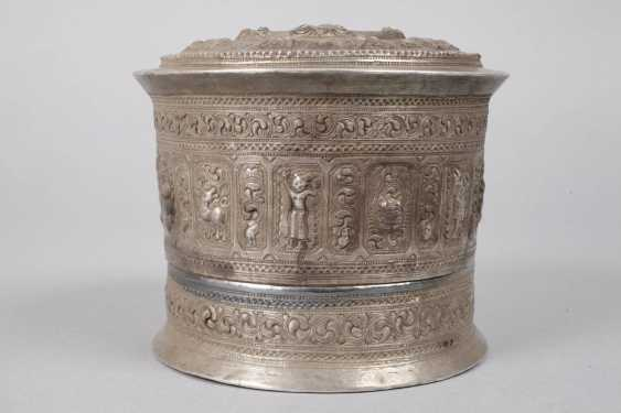 Four Silver Cans Of Persia - photo 3