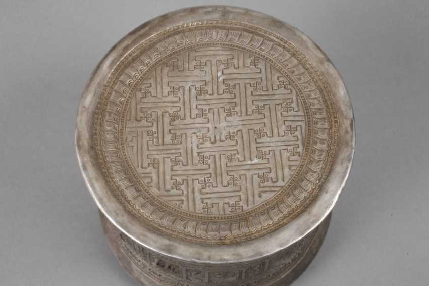 Four Silver Cans Of Persia - photo 5