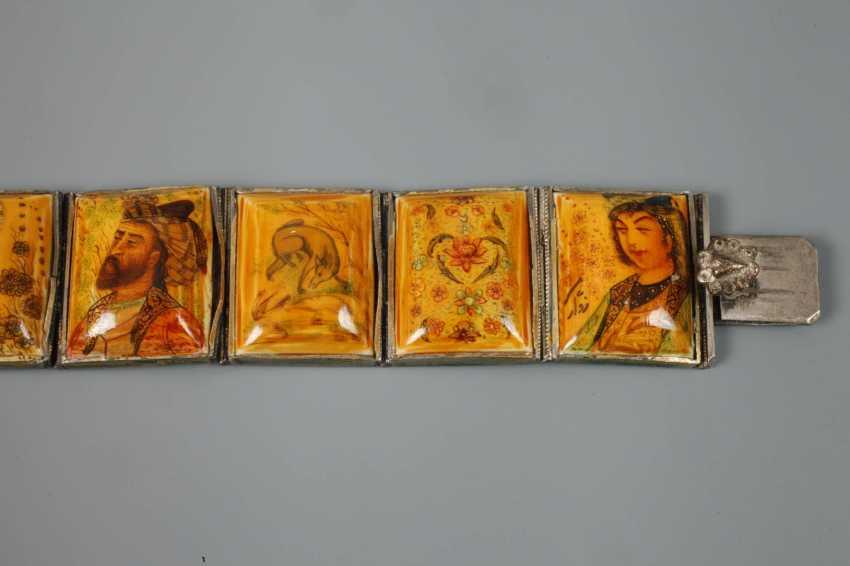 Bracelet with miniature painting - photo 4