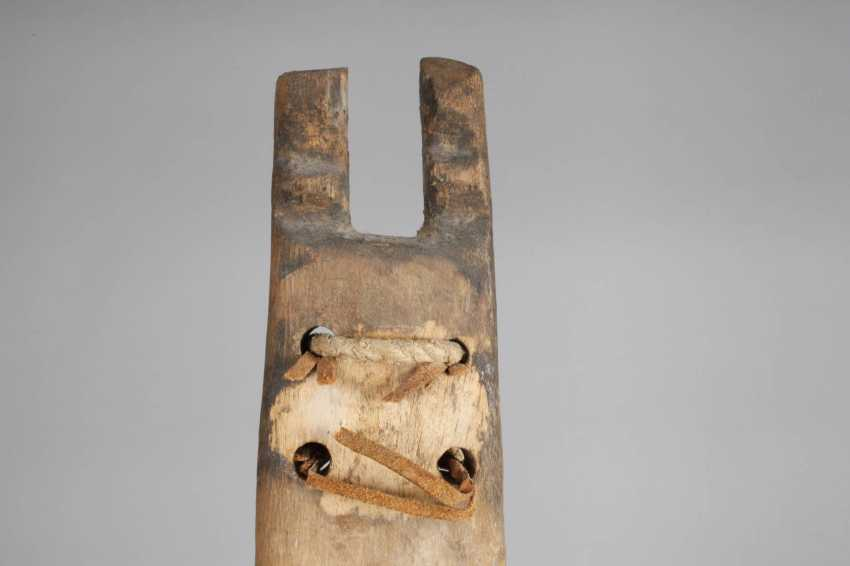 Ritual and initiation ceremony mask with Board essay - photo 6