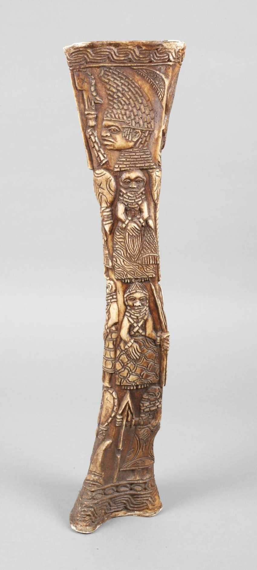 Carved Shin Bone - photo 1