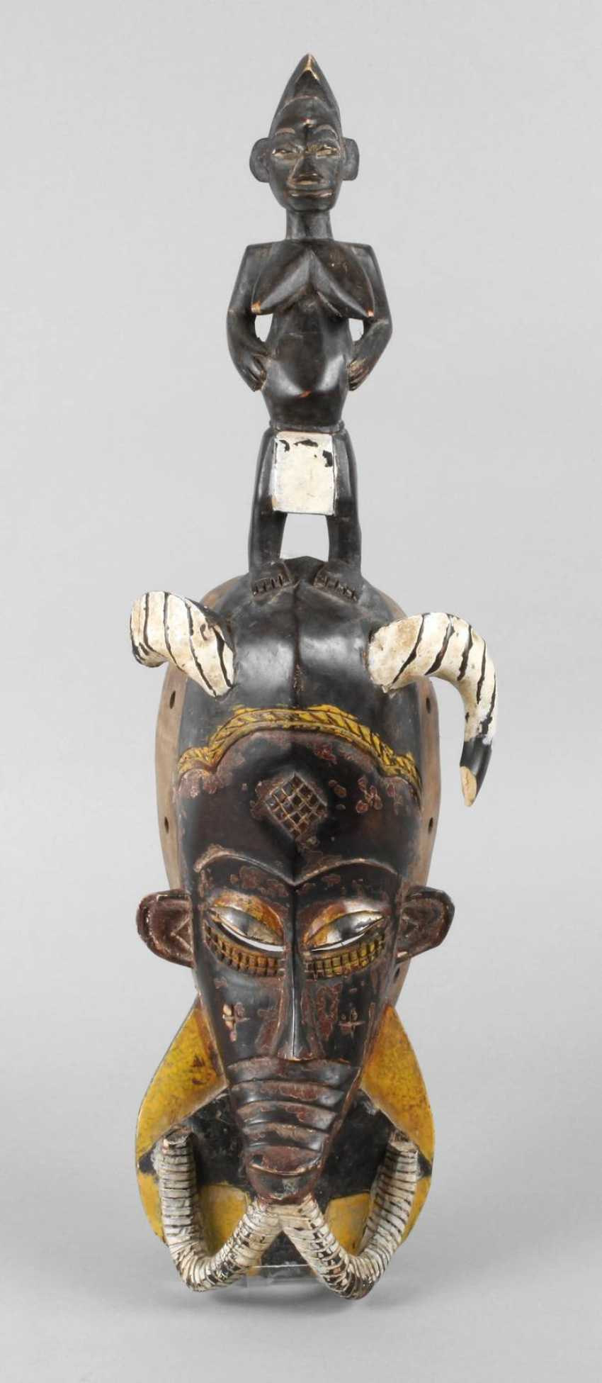 Large dance mask of the Senufo - photo 1