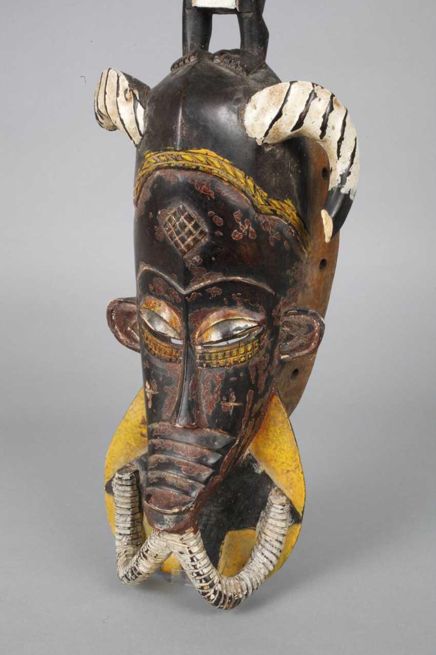 Large dance mask of the Senufo - photo 6