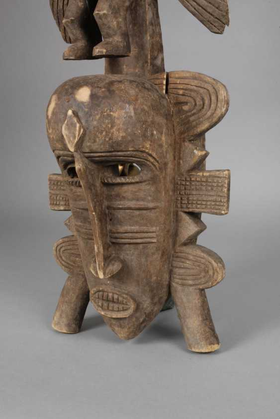 Oversized top mask of the Senufo - photo 3