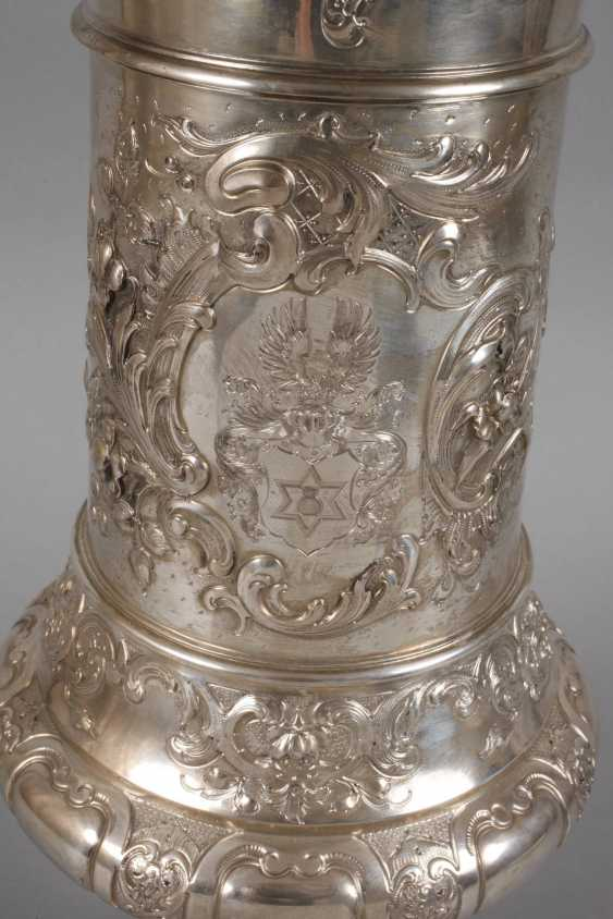 A Large Silver Cup Of The German War Association - photo 3