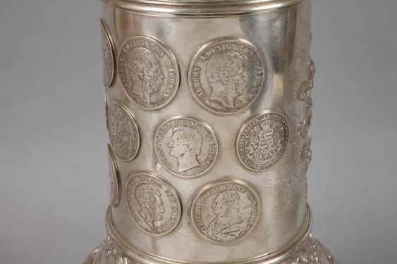 A Large Silver Cup Of The German War Association - photo 6