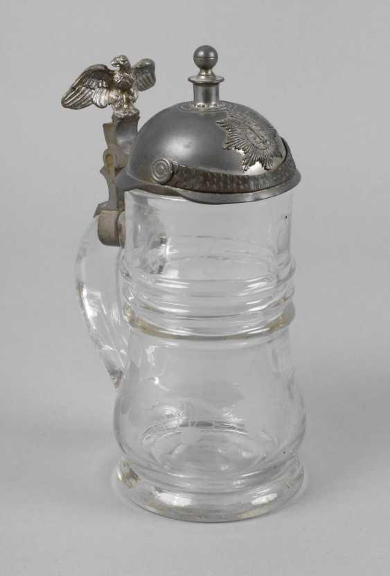 Glass Beer Mug Saxony - photo 1