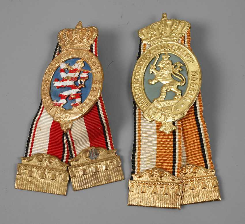 Two Badges Of The War, Camaraderie Hassia - photo 1