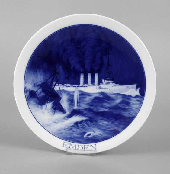 Meissen Commemorative Plate Imperial Navy - photo 1