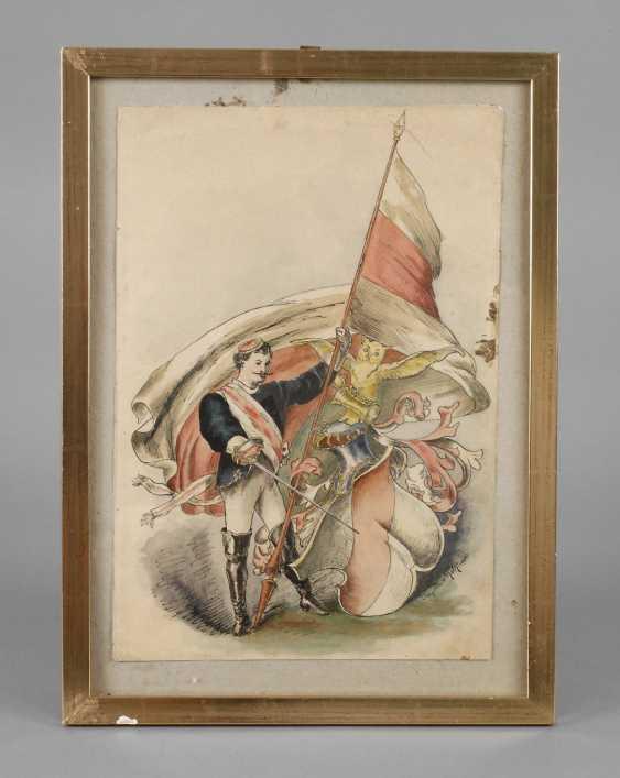 Franz Edler von Koch, Student drawing - photo 1