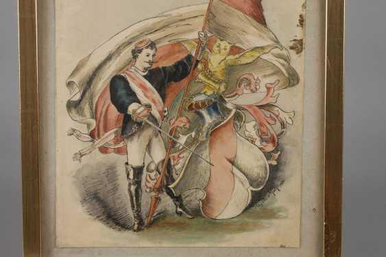 Franz Edler von Koch, Student drawing - photo 2