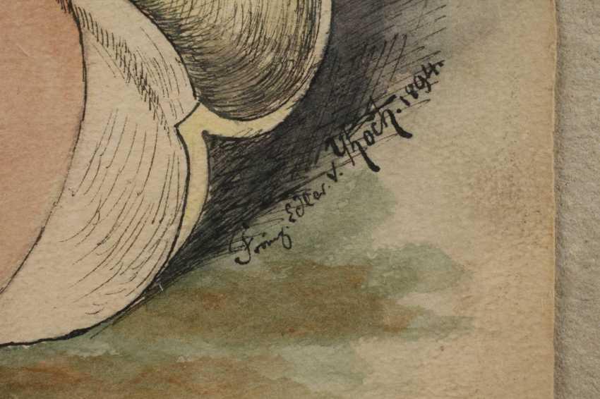 Franz Edler von Koch, Student drawing - photo 3