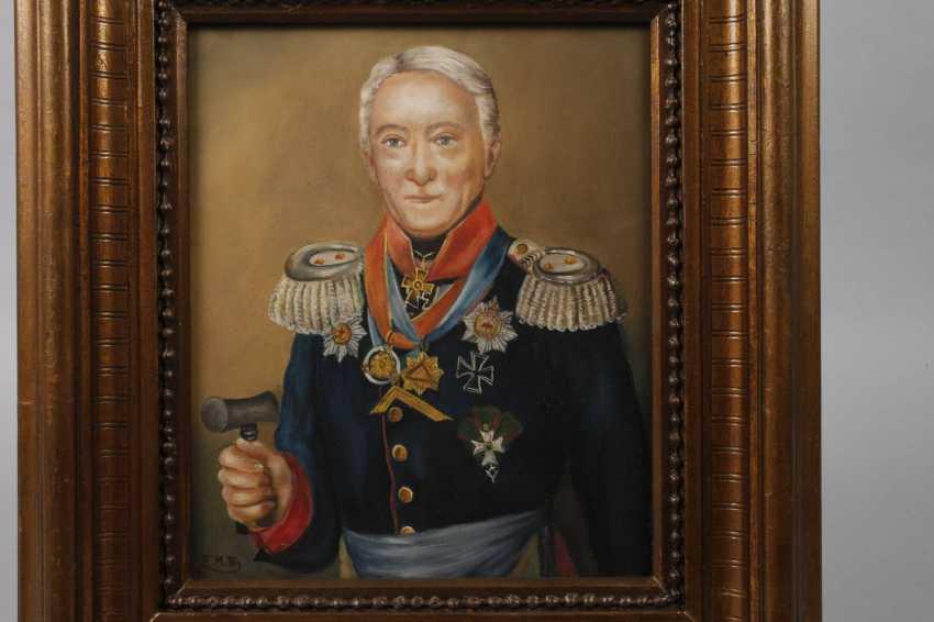 Painting of Leopold Wilhelm von Dobschütz - photo 2