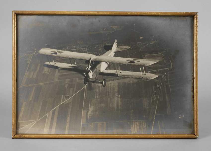 Photograph of a DFW-combat aircraft - photo 1