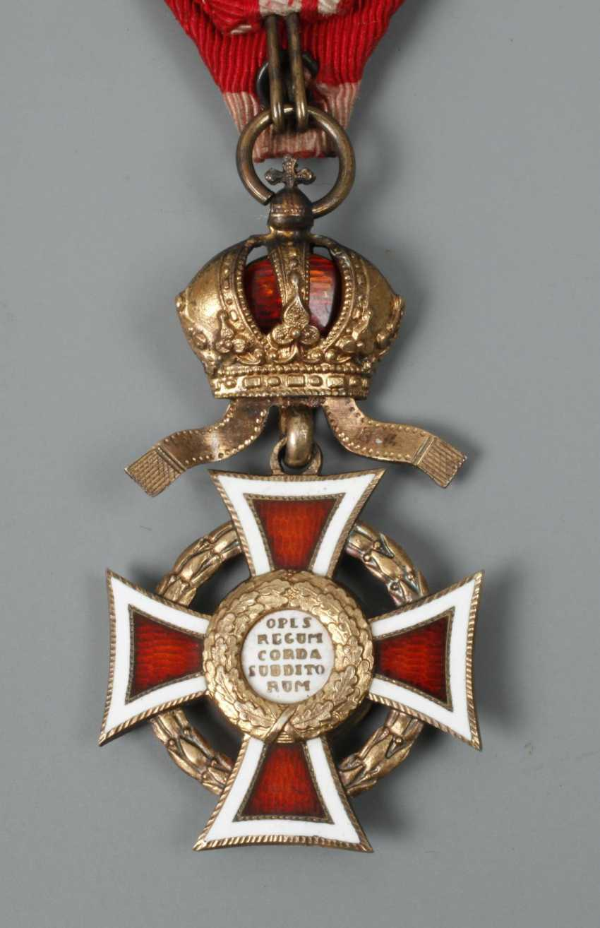 An Austrian Order Of Leopold - photo 3
