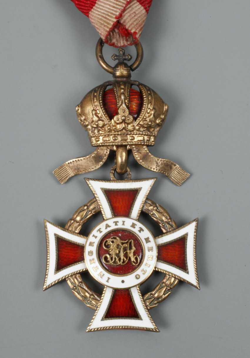 An Austrian Order Of Leopold - photo 4