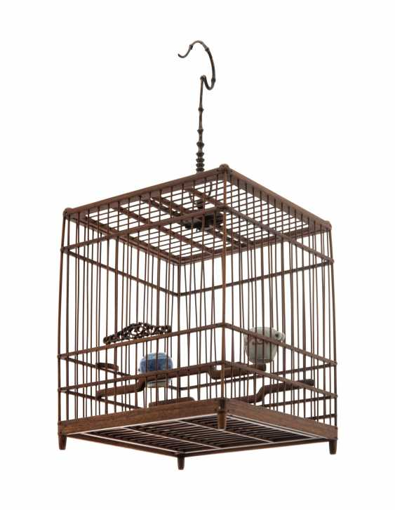 A CHINESE HUALI BIRDCAGE - photo 3