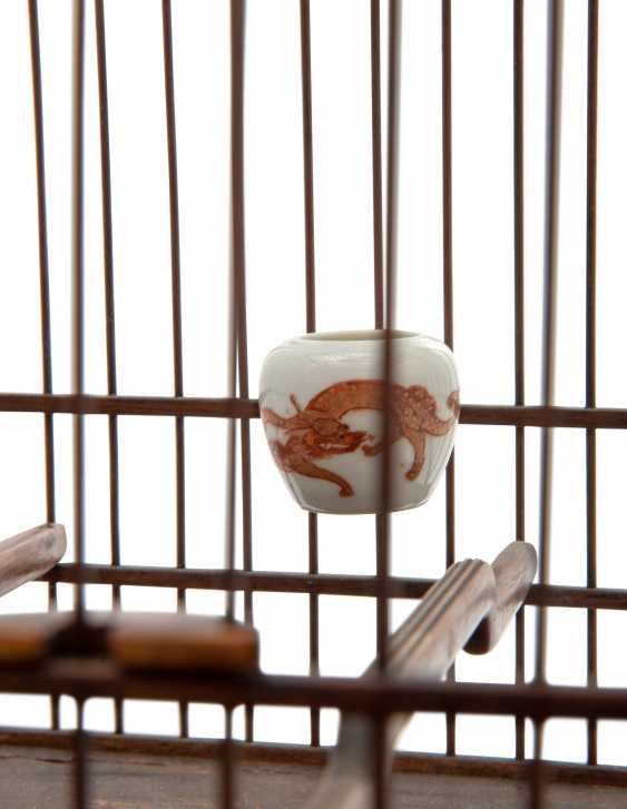 A CHINESE HUALI BIRDCAGE - photo 4