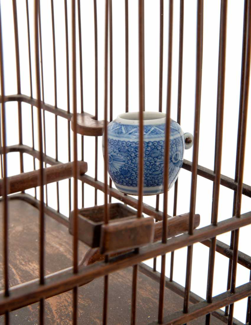 A CHINESE HUALI BIRDCAGE - photo 5