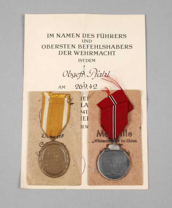 Ostmedaille and West wall medal - photo 1