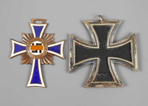 Iron cross and mother's cross - photo 1
