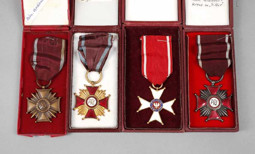 Konvolut Polnische Orden - Foto 1