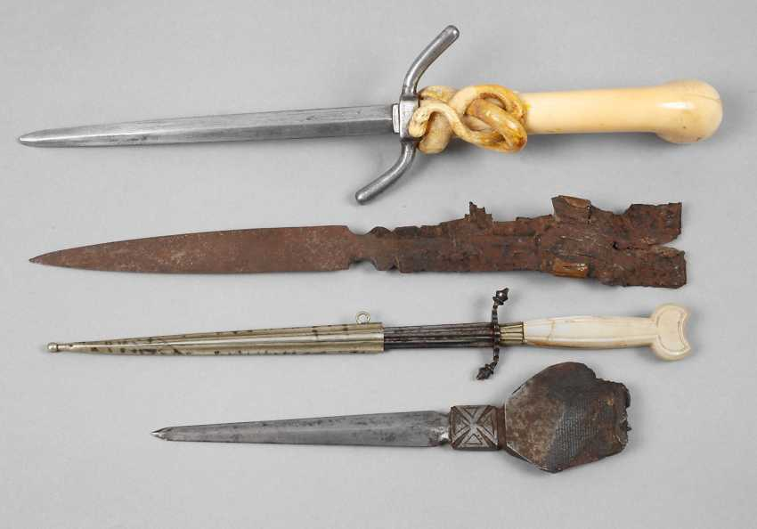 Four military letter opener - photo 1