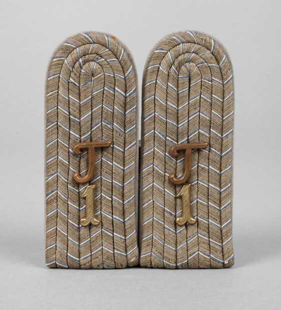 Pair Of Shoulder Pieces Bavaria 1. World war - photo 1