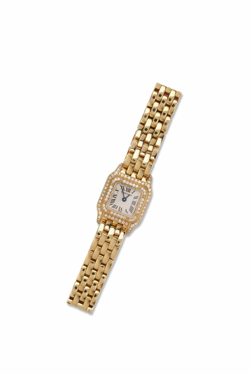 TWO GOLD AND DIAMOND WRISTWATCHES - photo 2