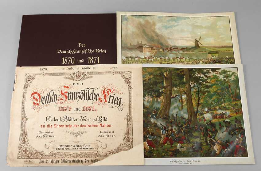 Chromo-Lithographs Of German-French War - photo 1