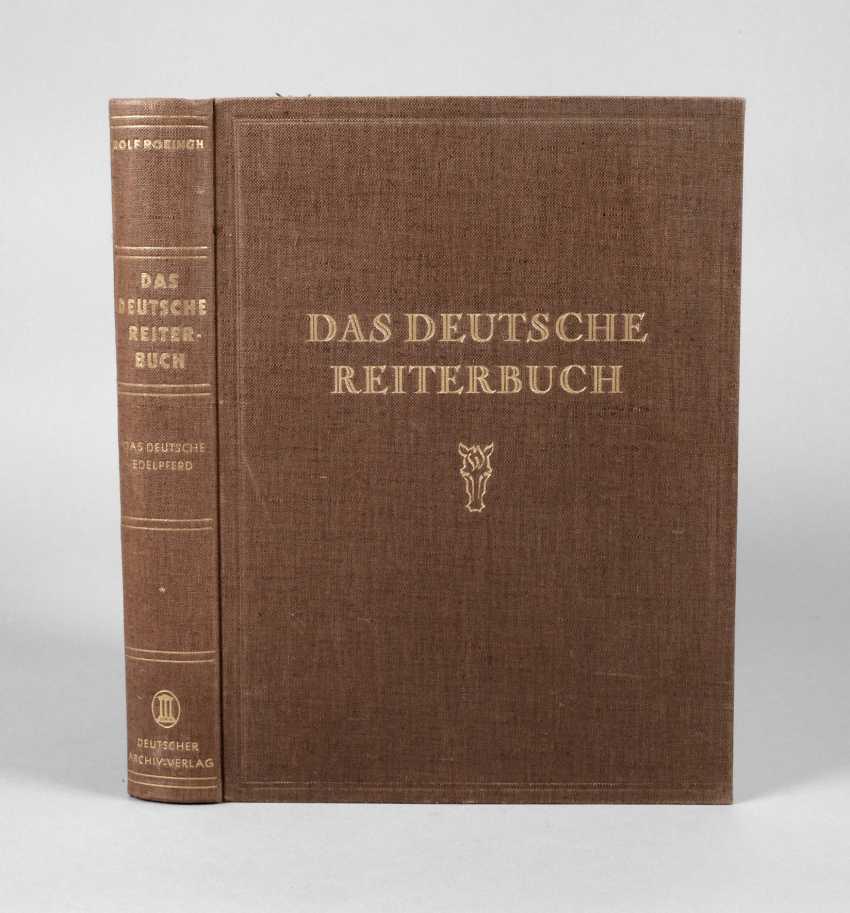 The German Rider Book - photo 1