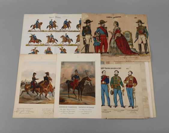 Mixed lot of historical types of boards military - photo 1
