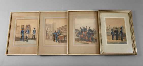 Four Uniform Illustrations Bavaria - photo 1
