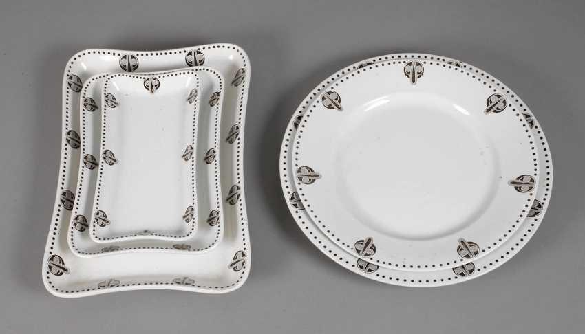 Russia five serving plates Kuznetsov - photo 1