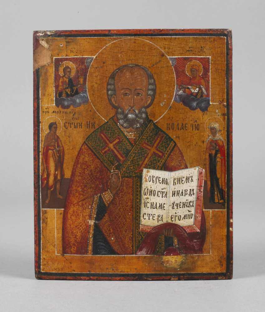 Icon Of Saint Nicholas - photo 1