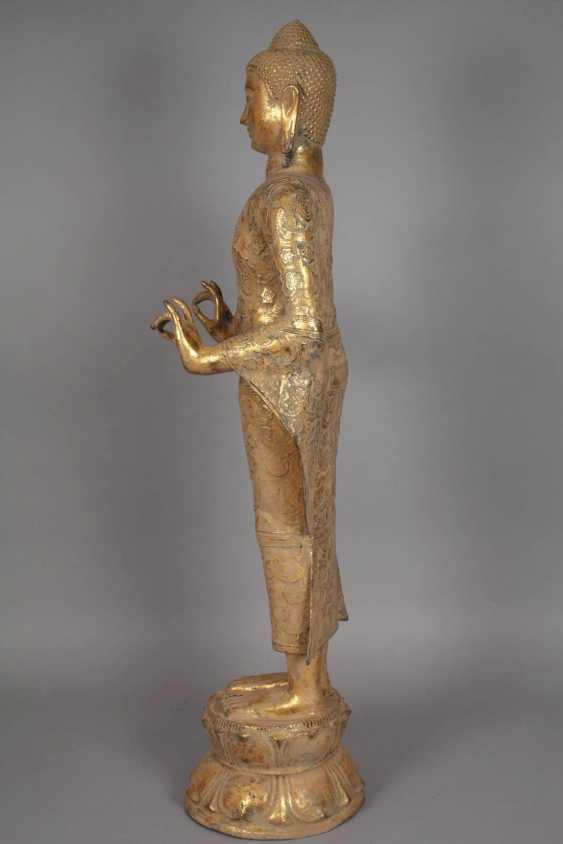 Large standing Buddha - photo 6