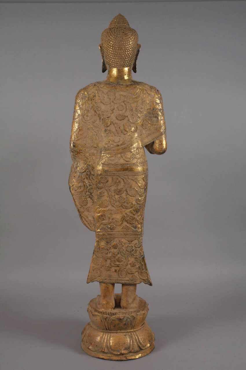 Large standing Buddha - photo 7