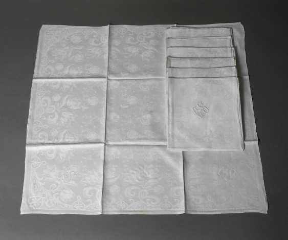 Seven Napkins Art Nouveau - photo 1