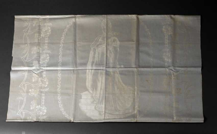 Gebilddamast table cloth Queen Luise of Prussia - photo 1